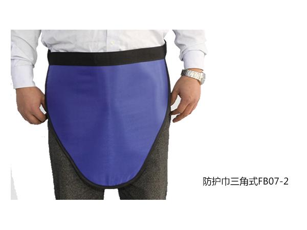 防护巾三角式